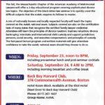 "Essential Fall Seminar – AAML's ""Sophisticated Divorce Topics"""